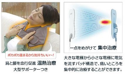「電気治療器(HV-F9520)」温熱治療
