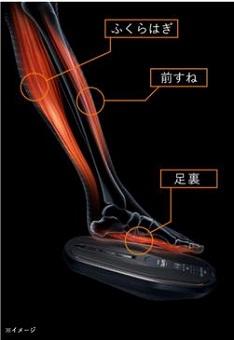 シックスパッド「フットフィットライト」歩行を支える筋肉を鍛える